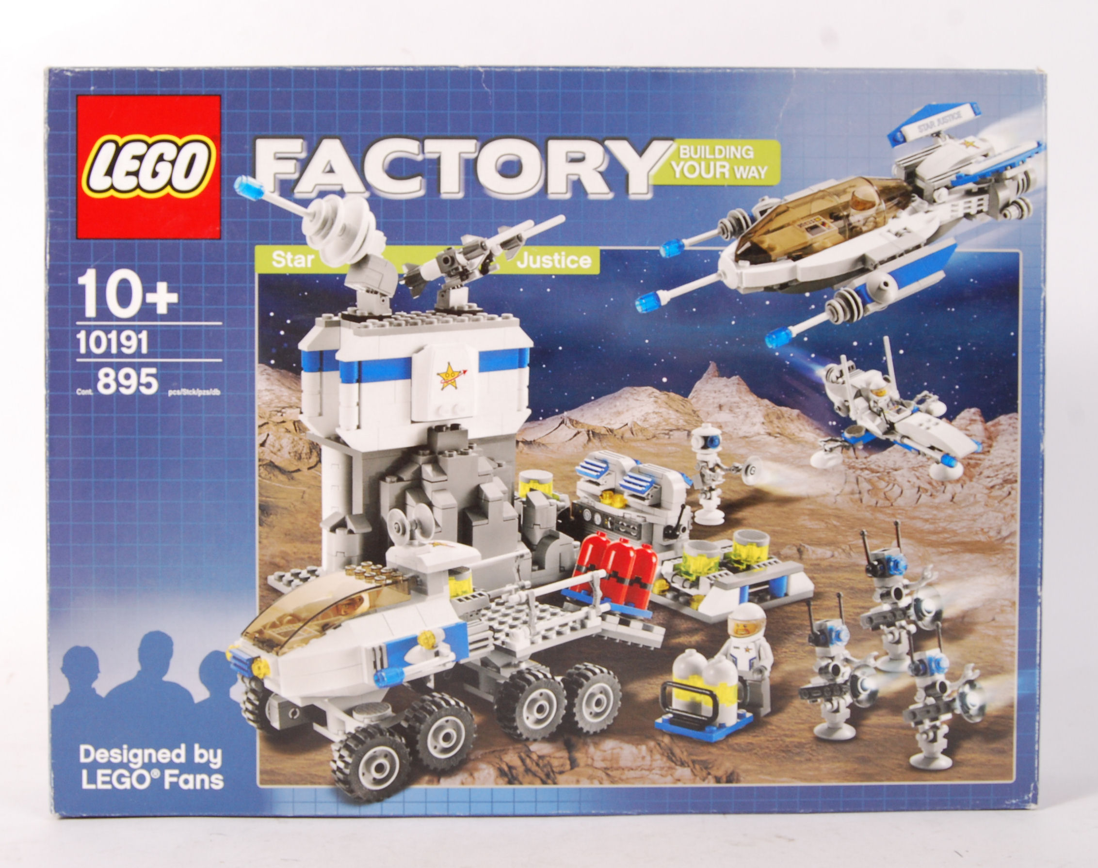 Lot 12 - LEGO FACTORY 10191 ' STAR JUSTICE ' BOXED SET