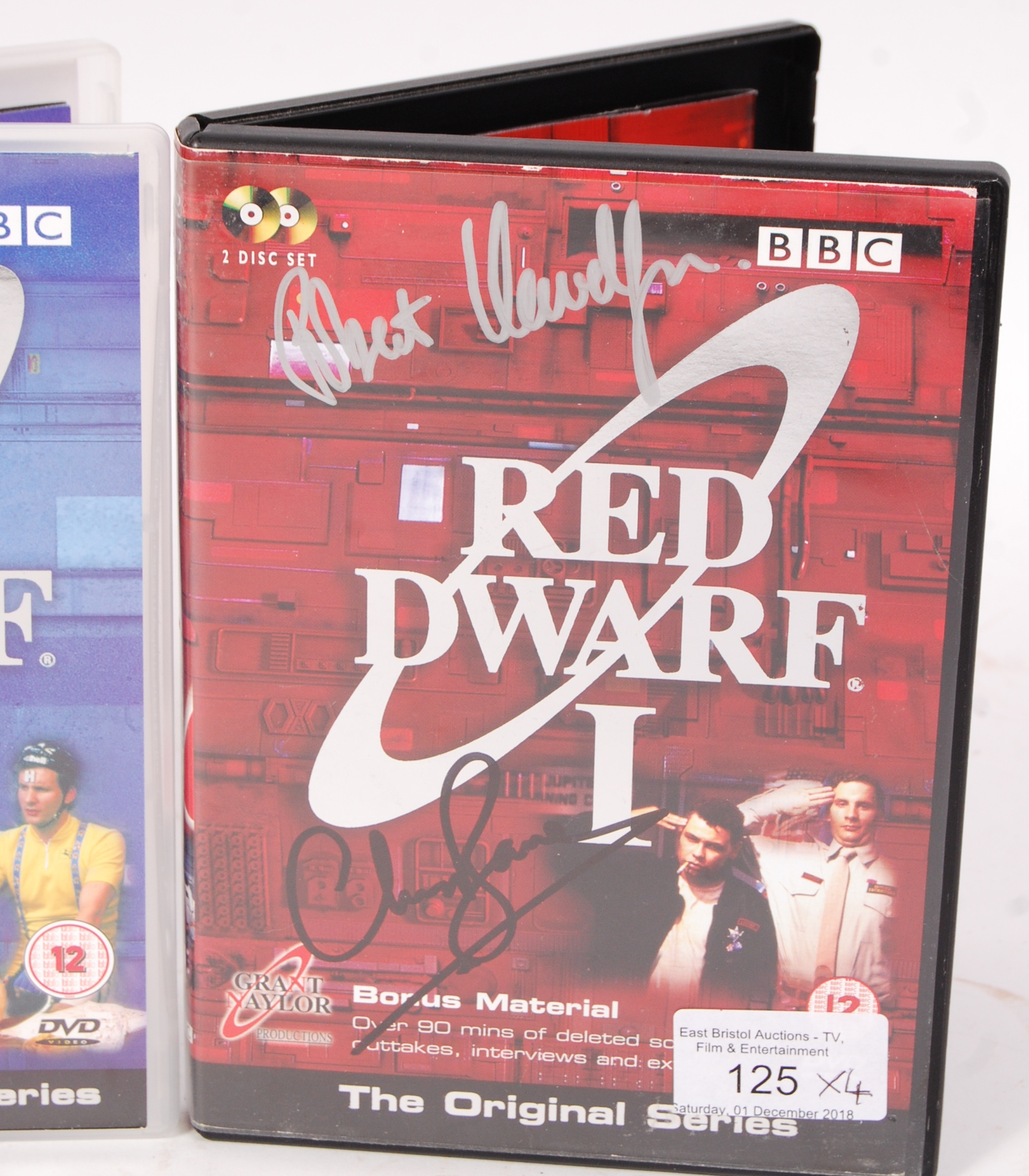 RED DWARF SERIES 1-4 AUTOGRAPHED DVD COLLECTION - Image 2 of 5