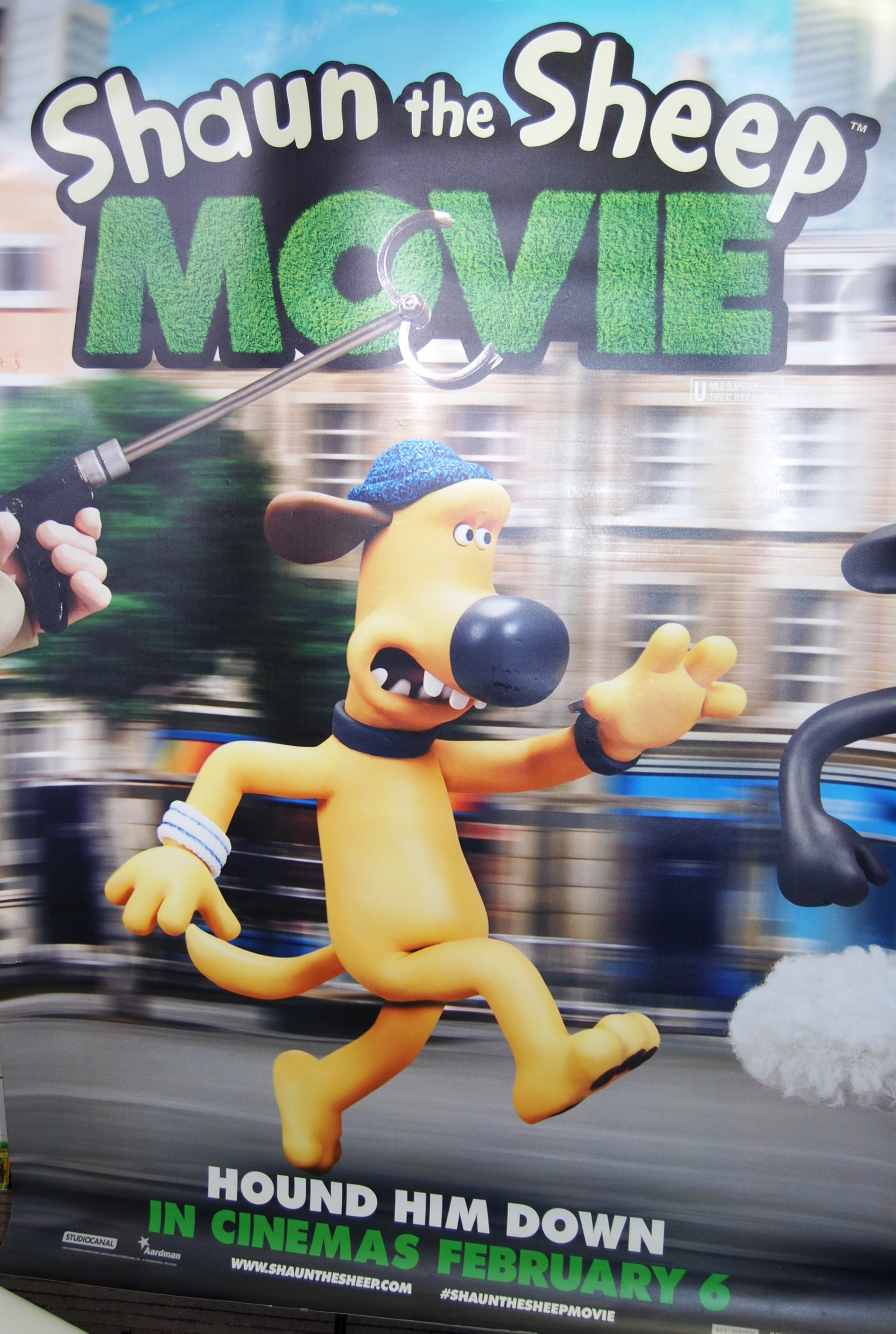 Lot 53 - LARGE SCALE SHAUN THE SHEEP THE MOVIE CINEMA POSTE