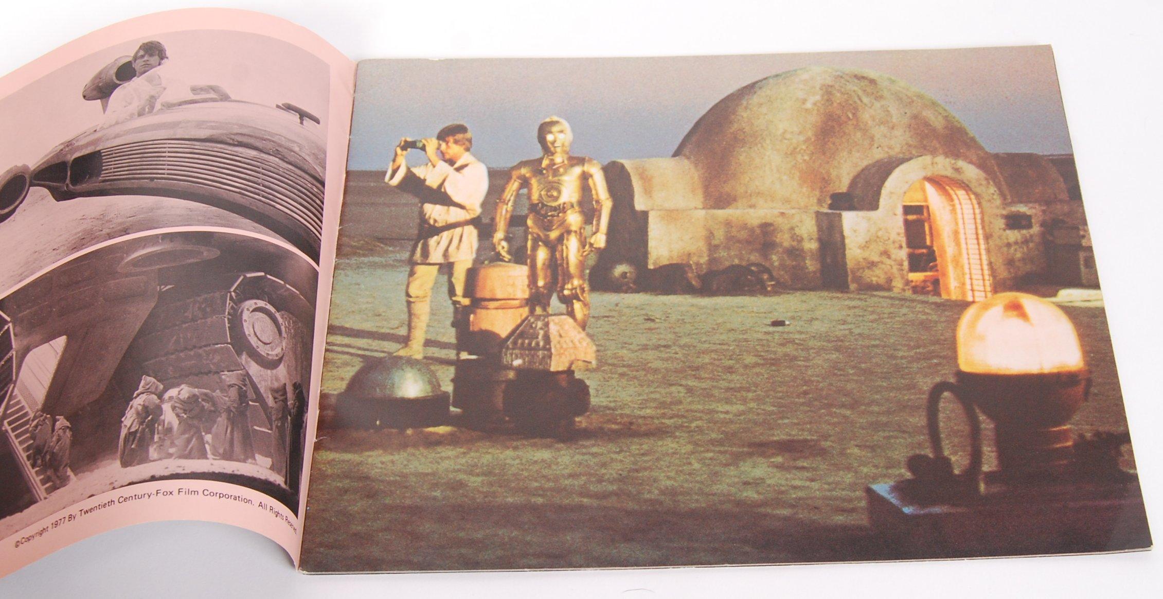 RARE ORIGINAL 1977 STAR WARS UK CINEMA RELEASE BRO - Image 2 of 4