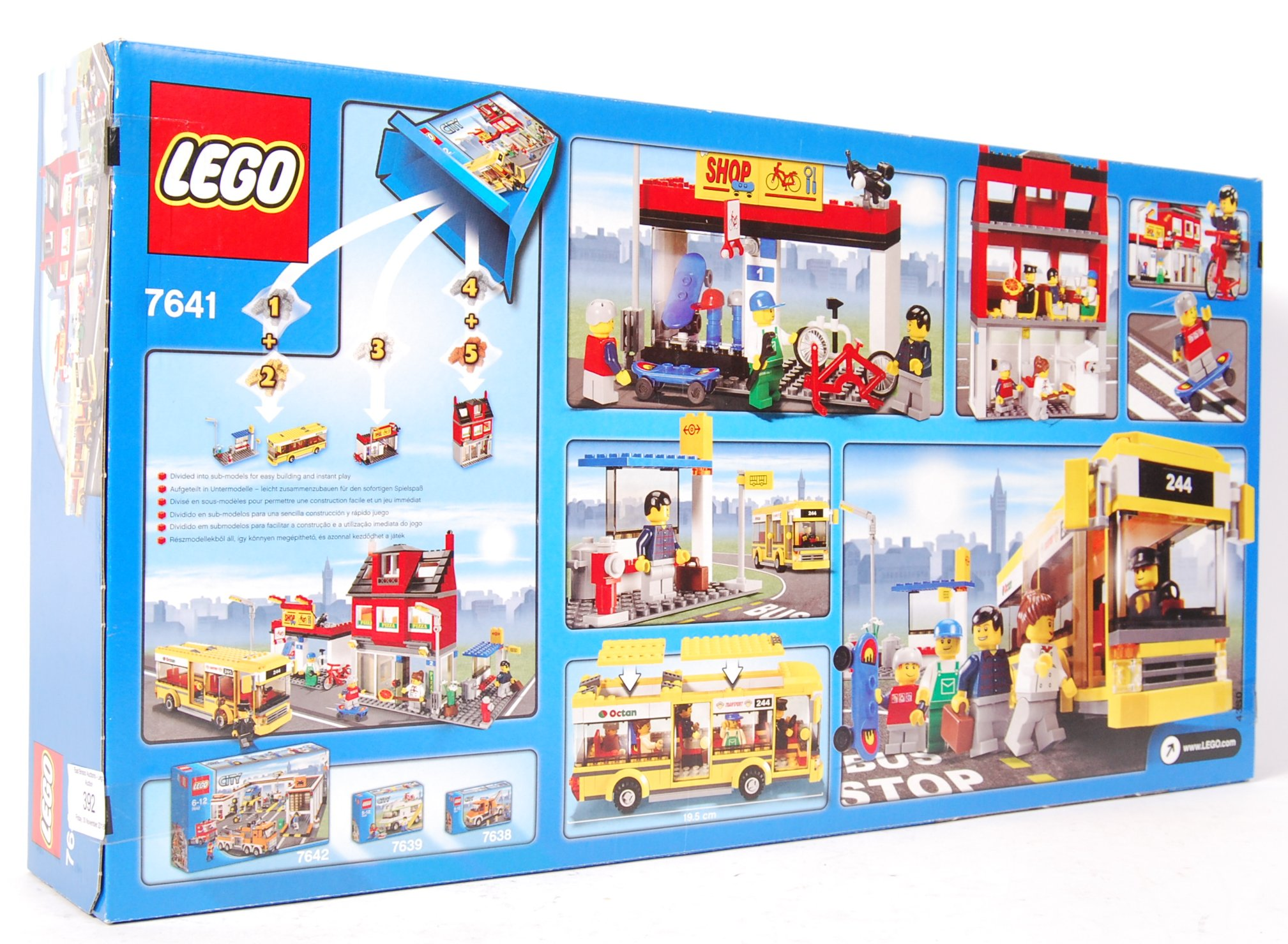 LEGO CITY SET NO. 7641 CITY CORNER - Image 2 of 2