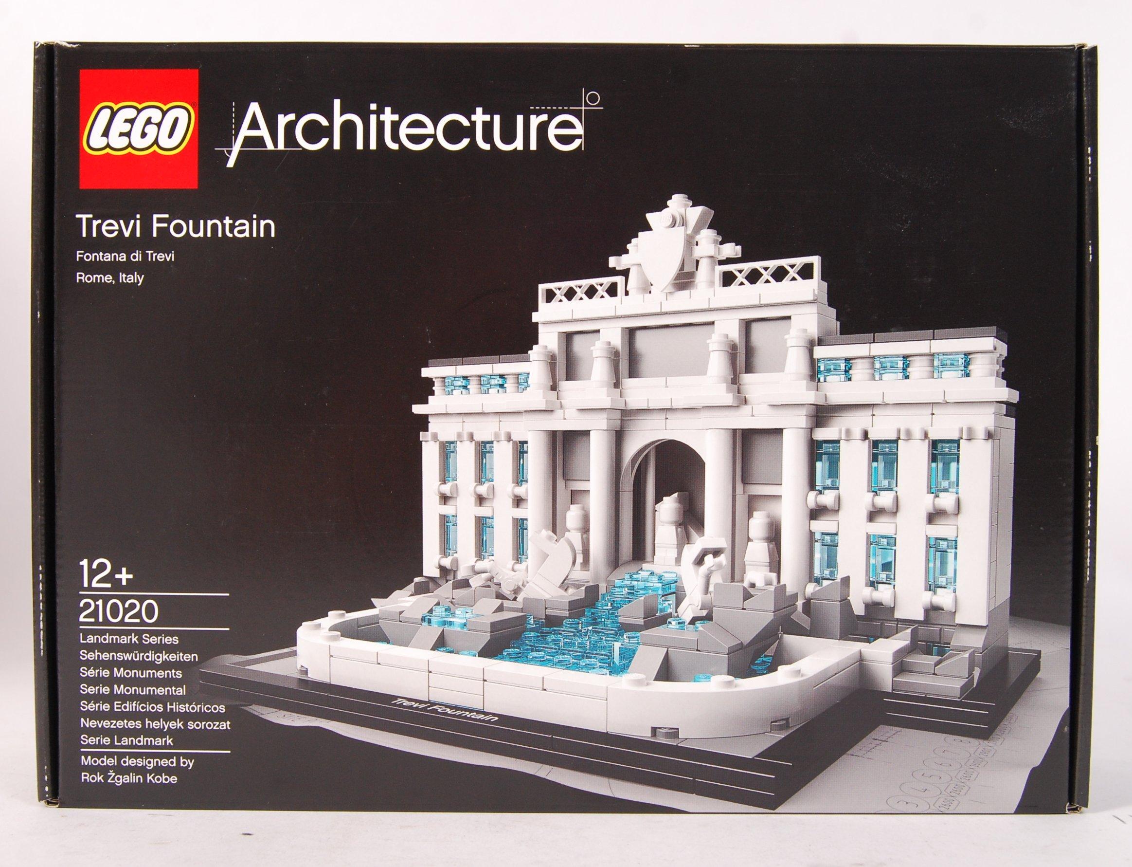 Lot 10 - LEGO ARCHITECTURE 21020 ' TREVI FOUNTAIN ' BOXED S