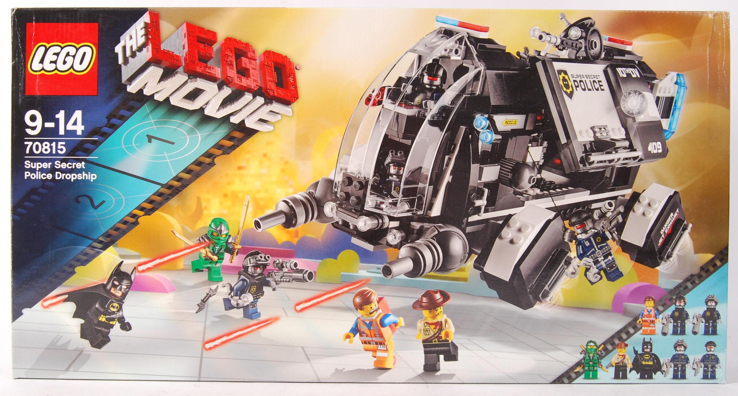 Lot 9 - LEGO THE LEGO MOVIE 70815 ' SUPER SECRET POLICE DR