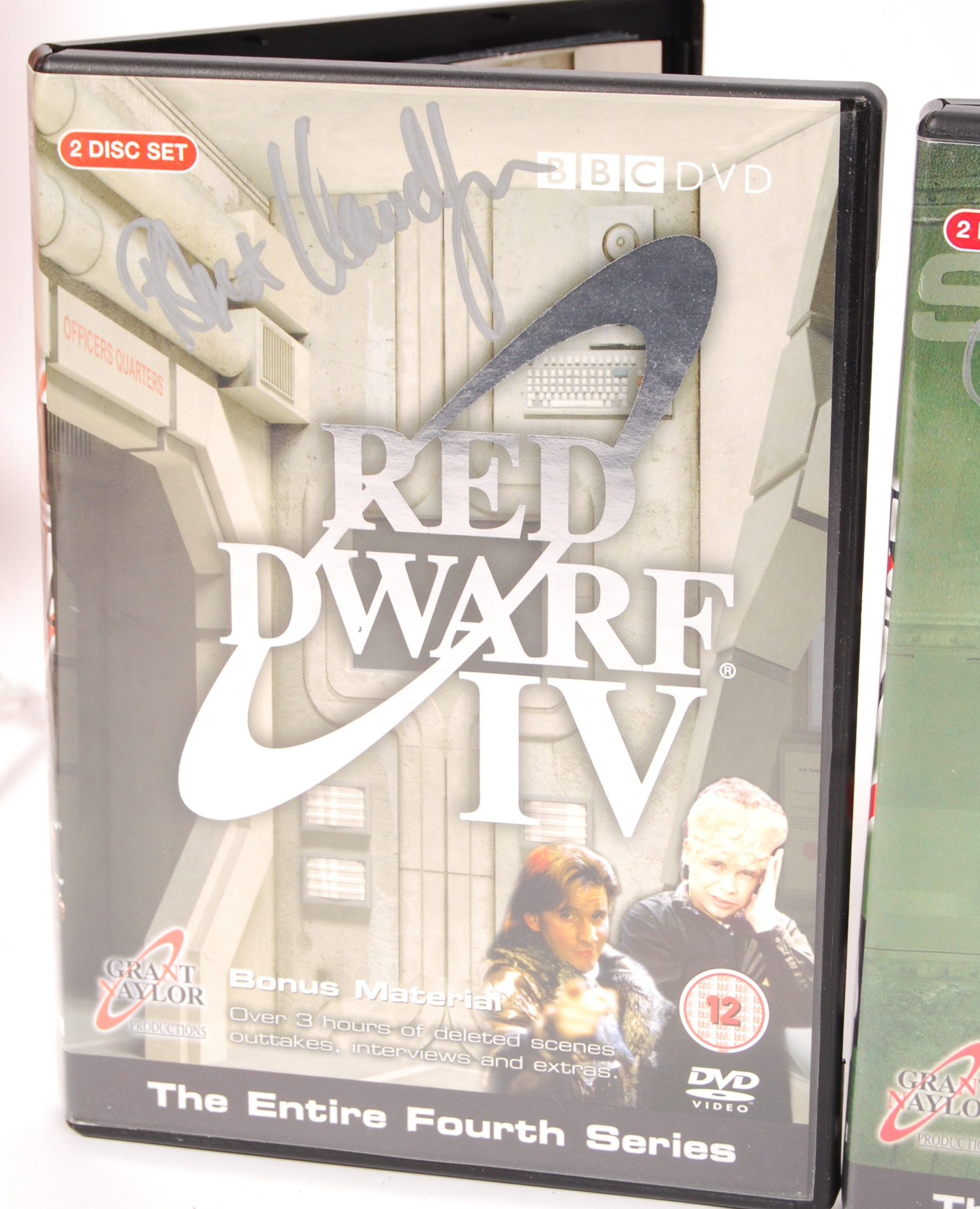 RED DWARF SERIES 1-4 AUTOGRAPHED DVD COLLECTION - Image 4 of 5