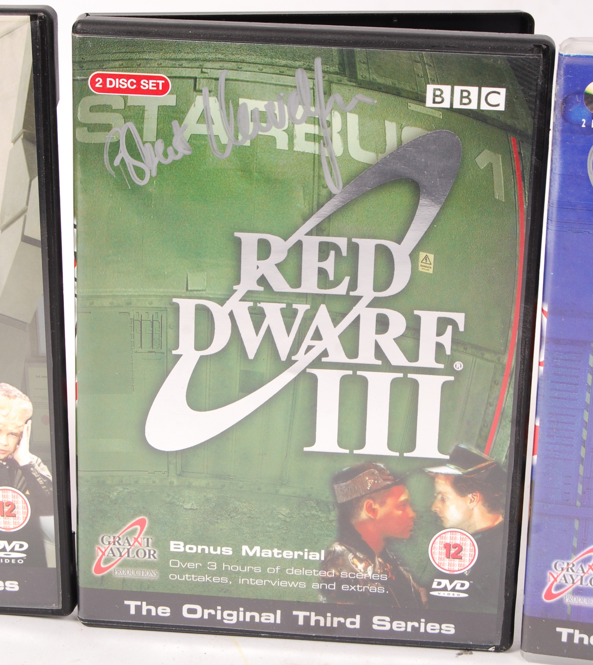 RED DWARF SERIES 1-4 AUTOGRAPHED DVD COLLECTION - Image 5 of 5