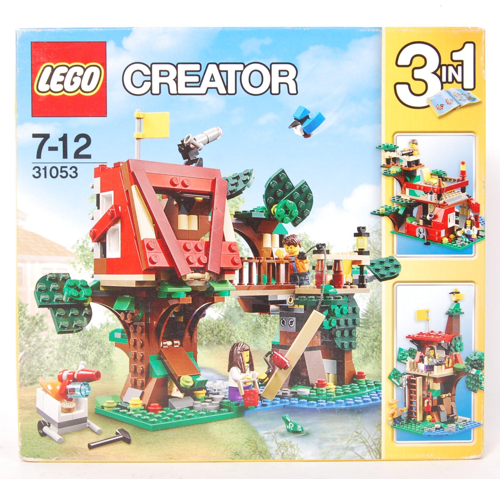 Lot 26 - LEGO CREATOR SET NO. 31053 TREEHOUSE ADVENTURES