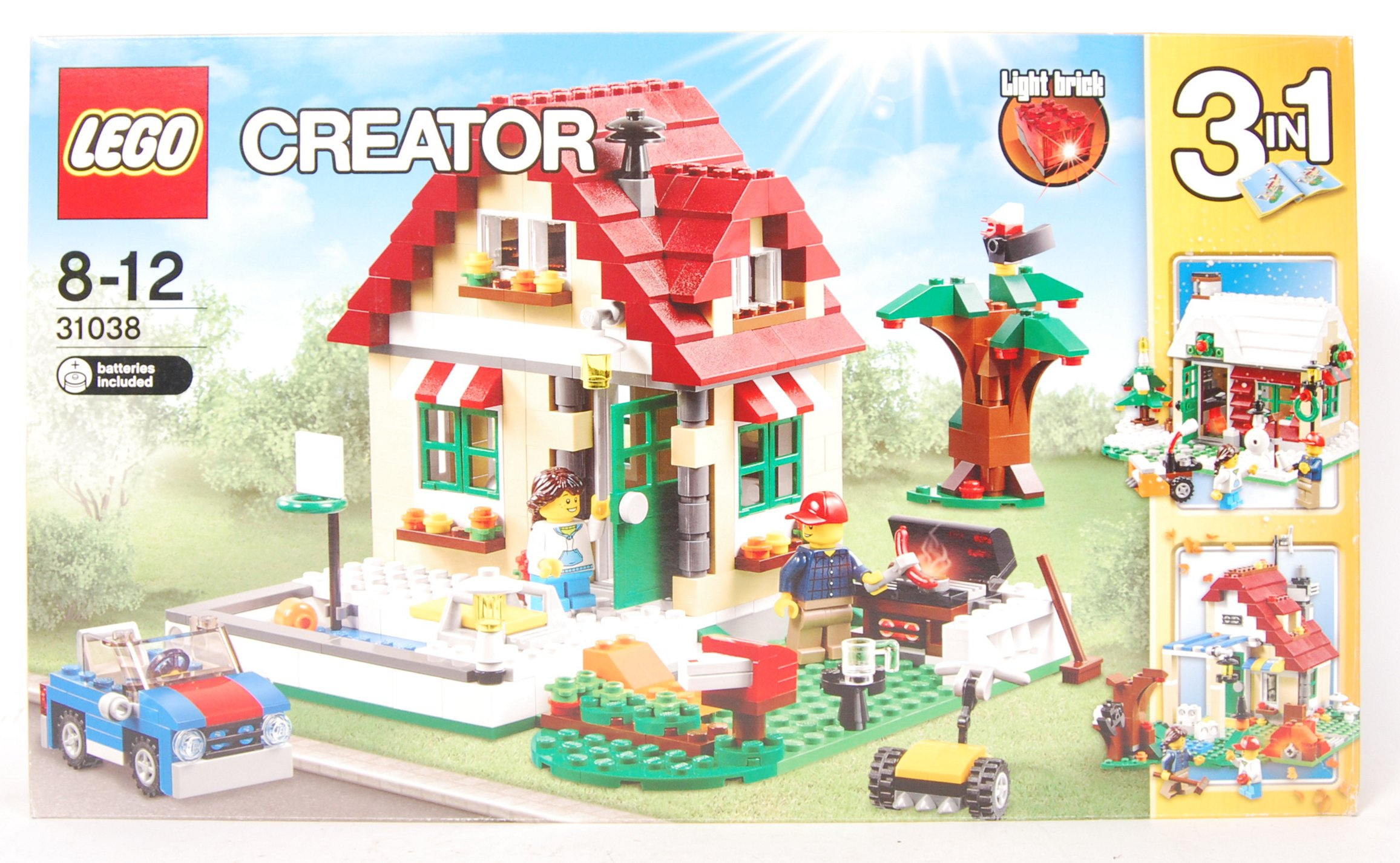 Lot 17 - LEGO CREATOR SET 31038 ' CHANGING SEASONS ' SET SE