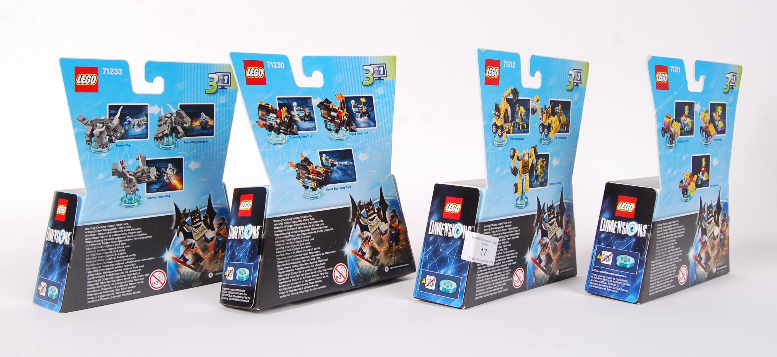 LEGO DIMENSION 71233 , 71230 , 71212 AND 71211 BOX - Image 2 of 2