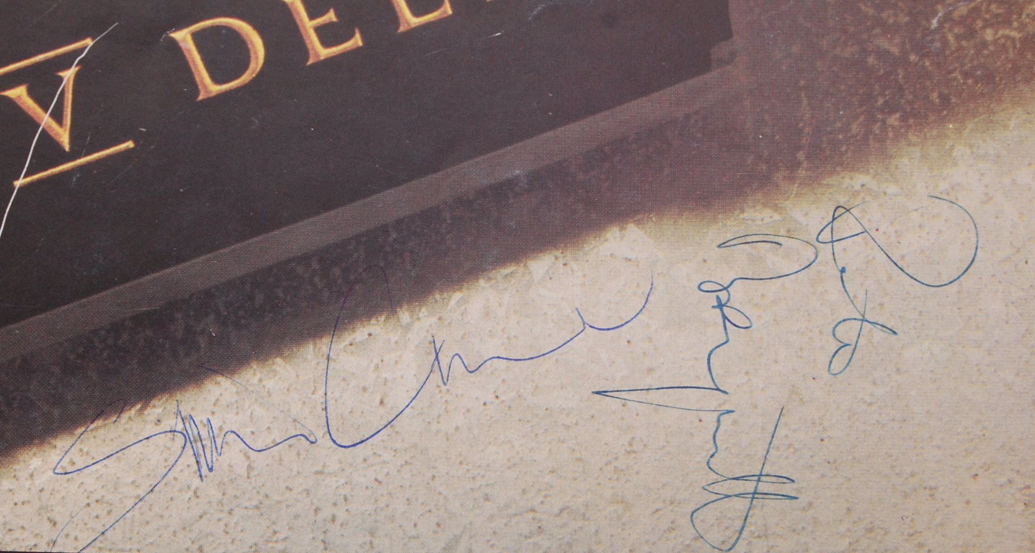 ORIGINAL ' THE BOOMTOWN RATS ' AUTOGRAPHED TOUR BR - Image 3 of 3