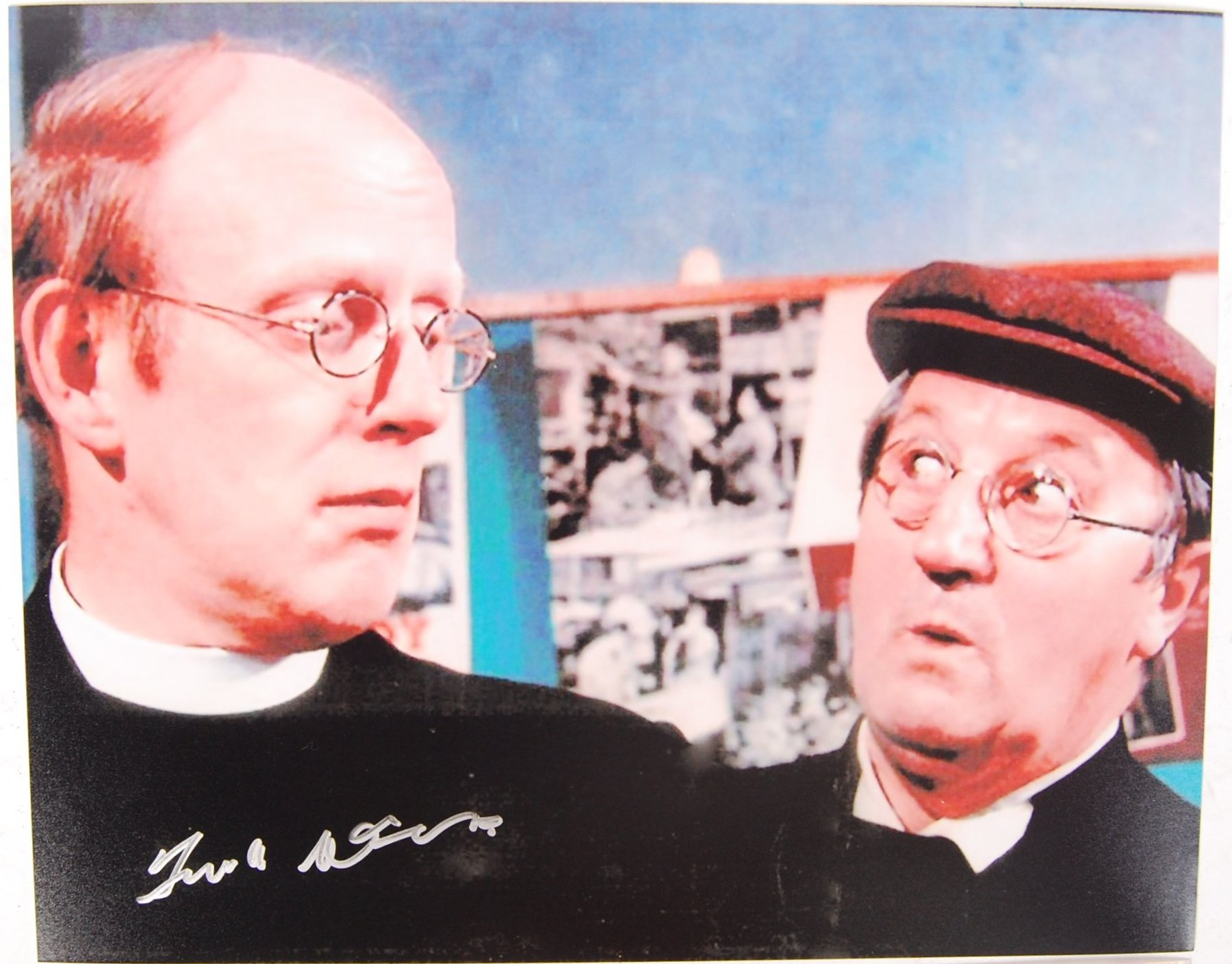 DAD'S ARMY ACTOR FRANK WILLIAMS AUTOGRAPHED PHOTOS - Image 2 of 3