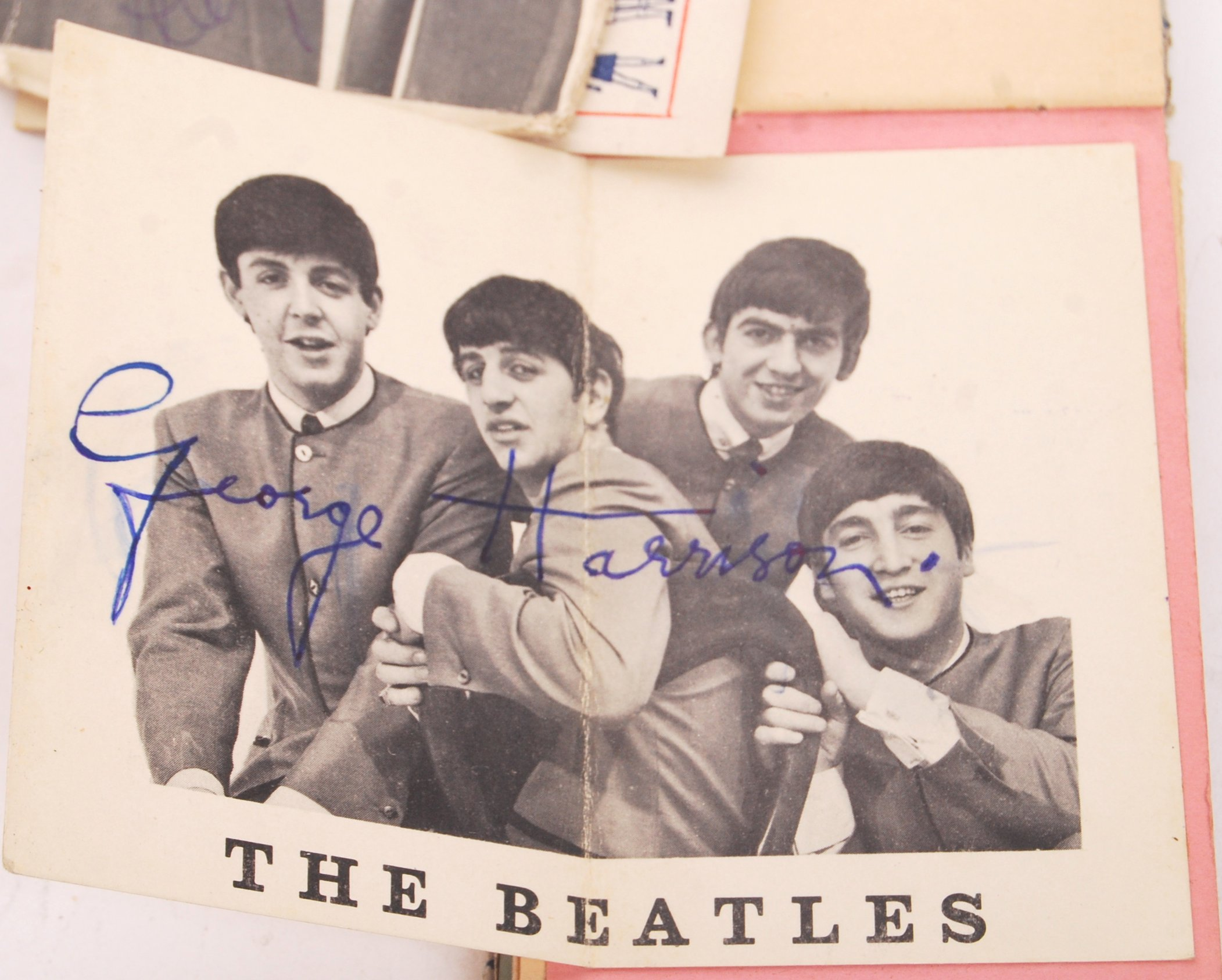 INCREDIBLY RARE PERSONAL BEATLES AUTOGRAPH COLLECT - Image 4 of 12