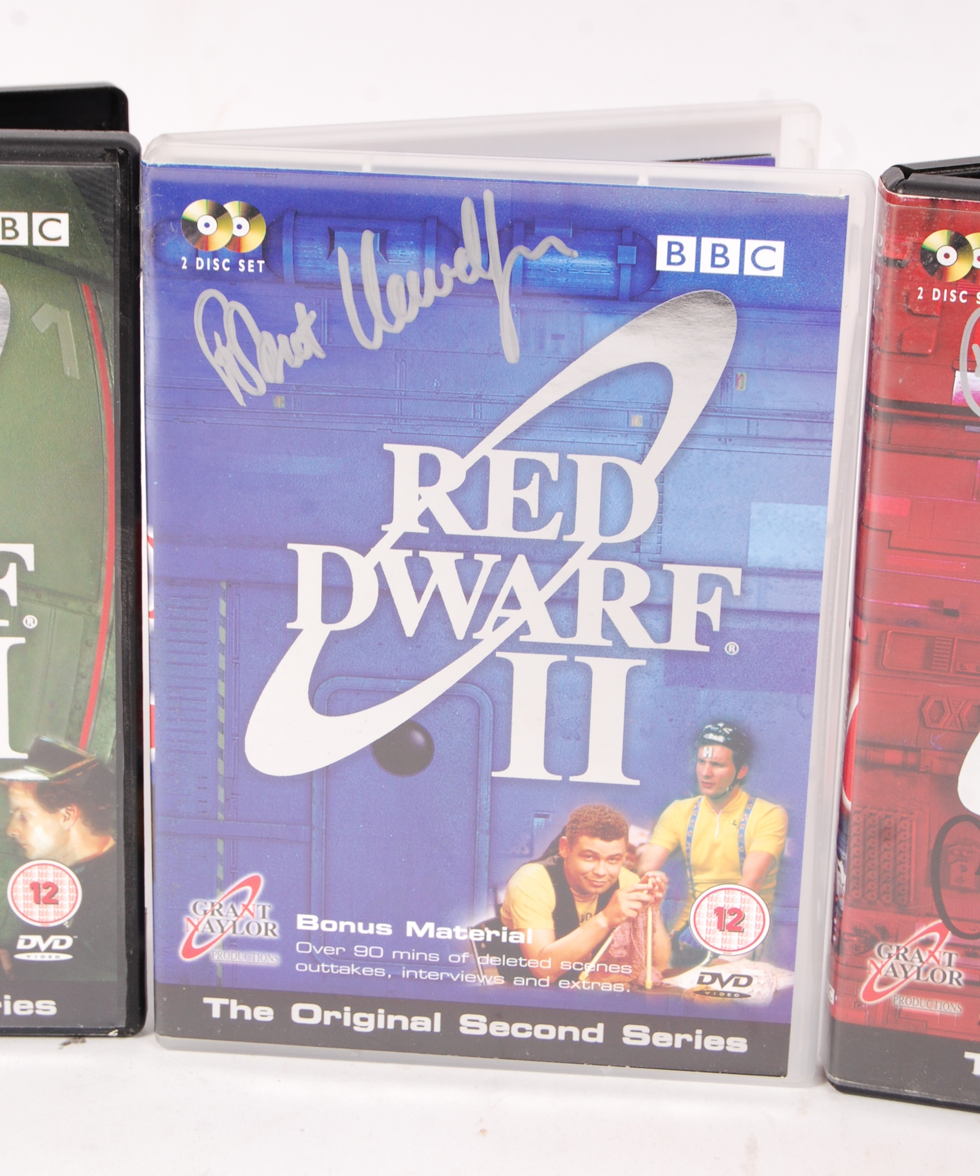 RED DWARF SERIES 1-4 AUTOGRAPHED DVD COLLECTION - Image 3 of 5
