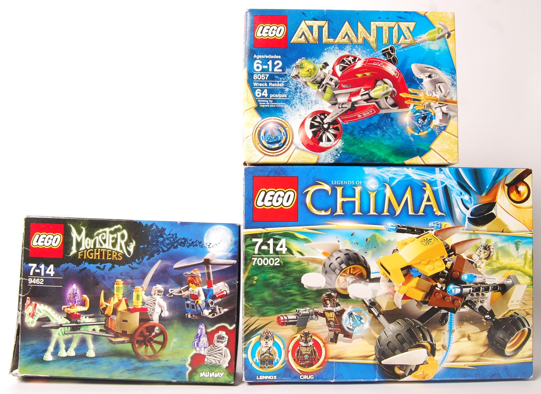 Lot 22 - LEGO ATLANTIS BOX SET NO. 8057, CHIMA BOX SET 7000
