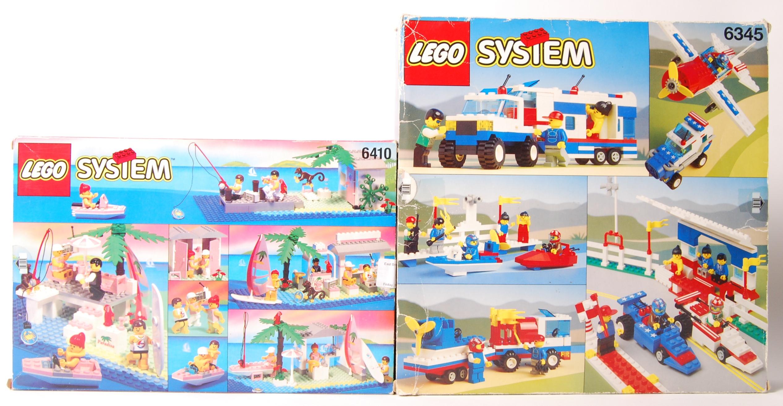Lot 5 - LEGO SYSTEM SET NO'S. 6345 & 6410