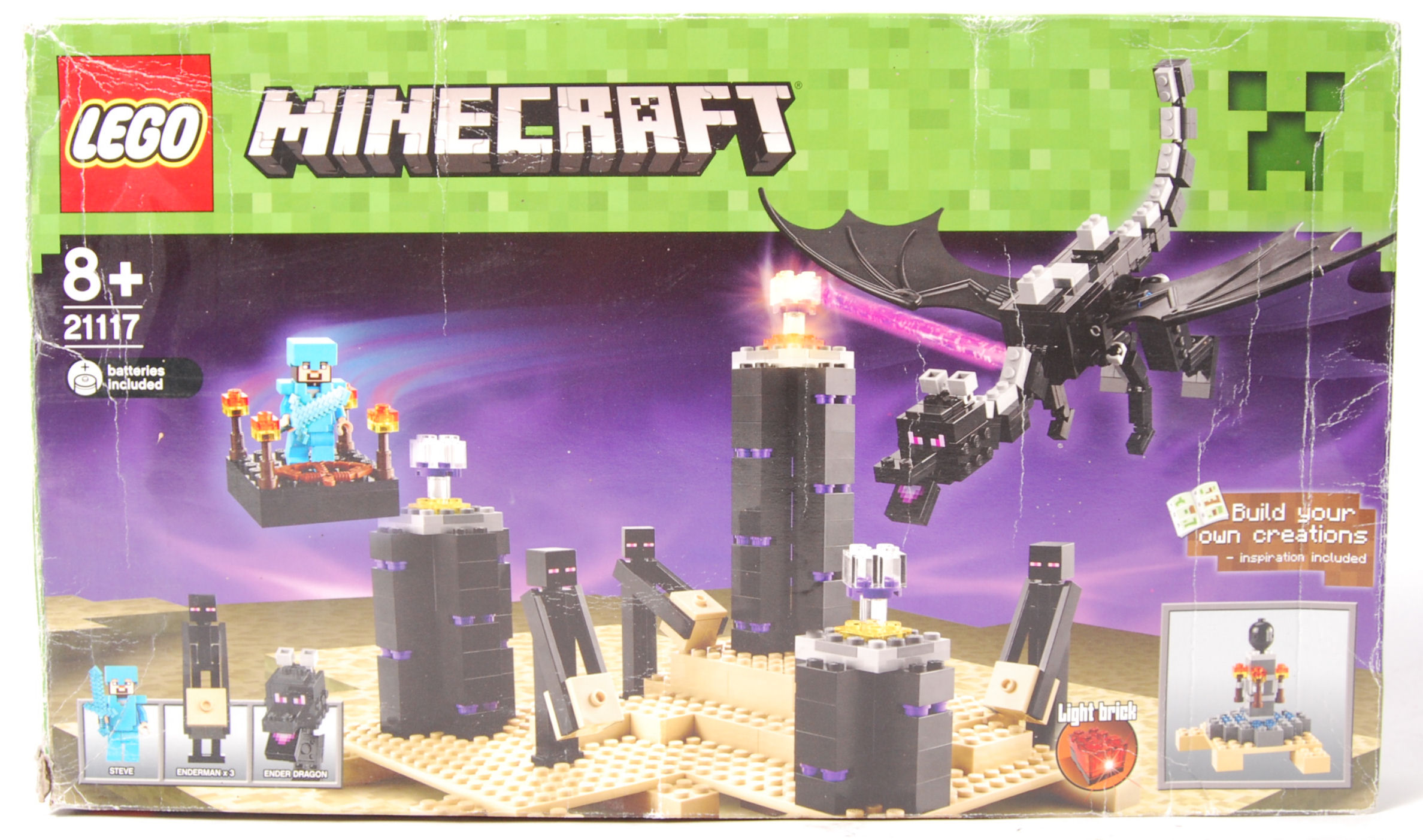 Lot 13 - LEGO MINECRAFT 21117 ' ENDER DRAGON ' BOXED SET