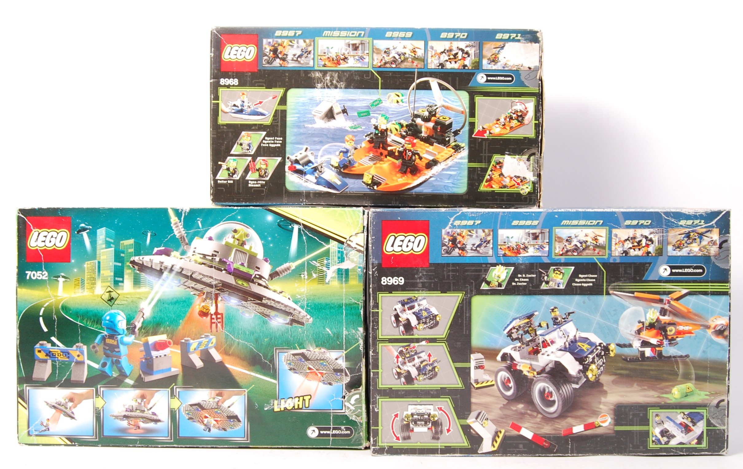 ASSORTED LEGO ' AGENTS ' AND ' ALIEN CONQUEST ' BO - Image 2 of 2
