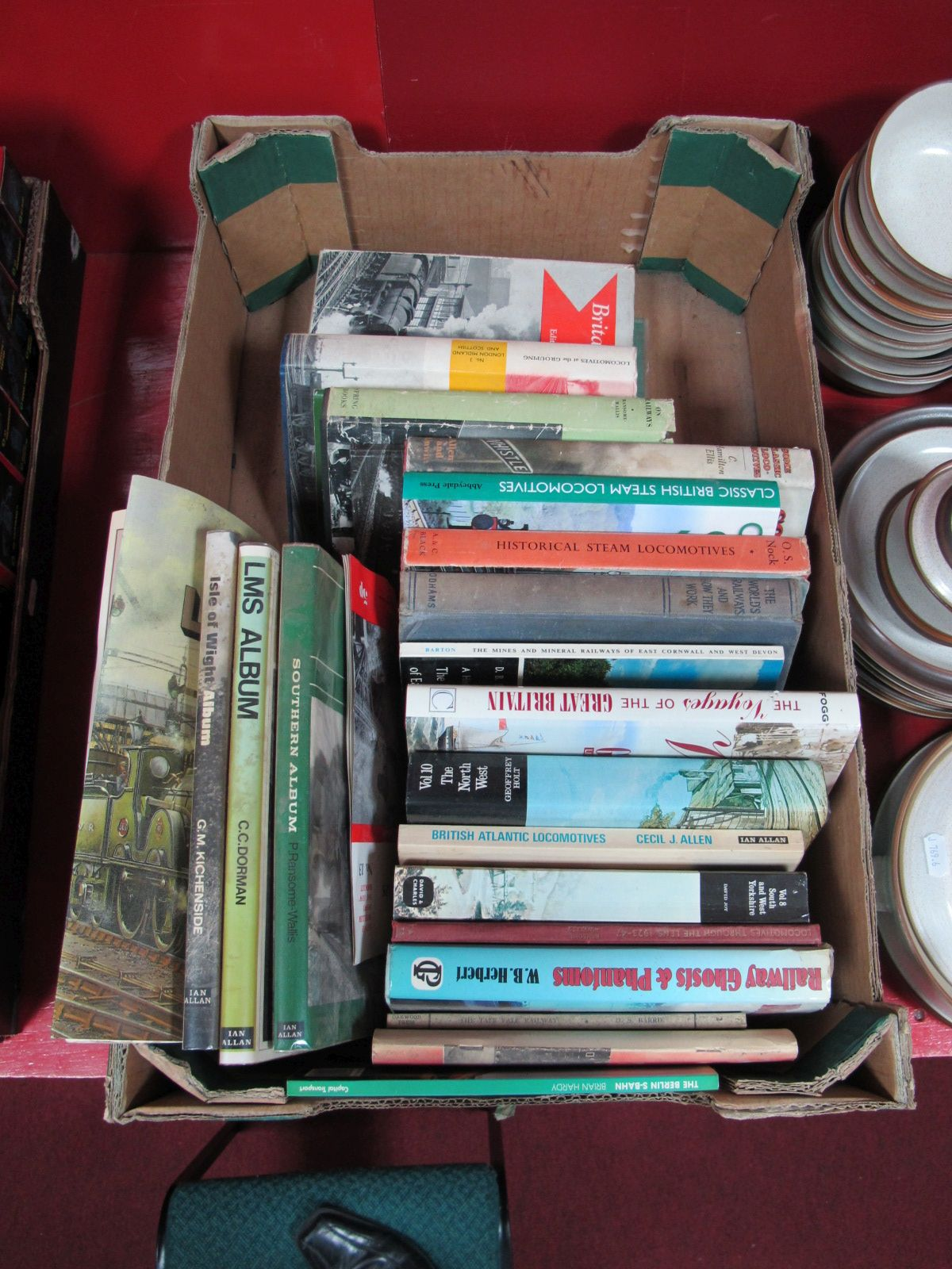Lot 11 - A Quantity of Steam Railway Related Books, hard and soft back including L.M.S., Railway Ghosts and
