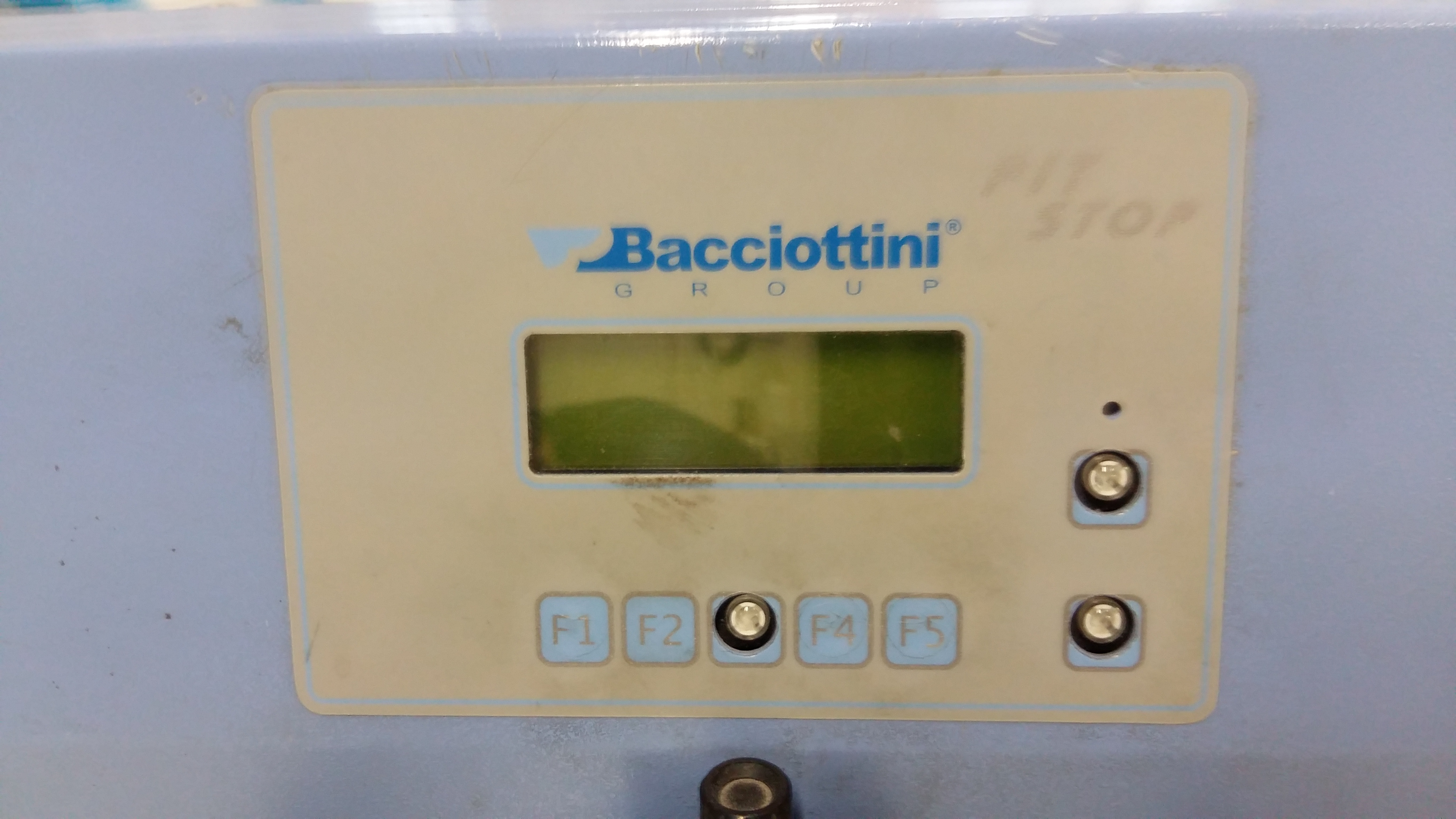 Lot 006 - Bacciottini Pit Stop AF speed creasing machine
