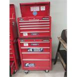 MASTERCRAFT RED 11-DRAWER ROLLING MECHANIC TOOL CHEST