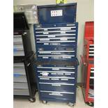 MASTERCRAFT BLUE 12-DRAWER ROLLING MECHANIC TOOL CHEST