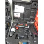 JOBMATE 12V BATTERY DRILL W/ CHARGER, BATTERY & CASE