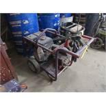 HOTSY GAS POWERED PRESSURE WASHER; HONDA ENGINE