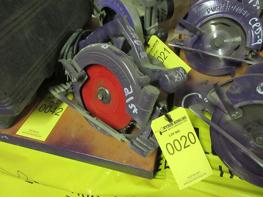 Lot 20 - PORTER CABLE 7 1/4'' CIRCULAR SAW