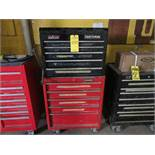 HUSKY 5-DRAWER TOOL CHEST & CRAFTSMAN 5-DRAWER TOOLBOX WITH CONTENTS