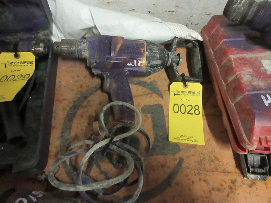 Lot 28 - DEWALT HD POWER DRILL; MIXING DRILL