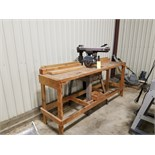 "10"" Craftsman Radial saw w/bench"