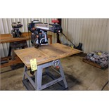 "RADIAL ARM SAW, CRAFTSMAN 10"", w/laser track"