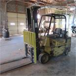Hyster LP Forklift with 3 Stage 7' Mast, 6200LBS Capacity, Side Shift, HRS:7094, S/N: A187V05182G