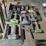 (10) Asst. Pneumatic Strip Nailers