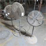 (3) Asst. Pedestal Fans