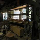 """Section of 12' x 36""""D x 10'H Pallet Racking w/3 Additional Uprights"""
