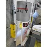 JET VORTEX CONE PORTABLE DUST COLLECTOR, MODEL DC-1100VX, 1.5 HP, 115/230V, S/N 19041342, BOTTOM