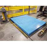 96''X 72'' AVERY WEIGHT-TRONIX DIGITAL FLOOR SCALE WITH METTLER-TOLEDO IND246 DRO UNIT, MODEL