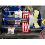 ULINE 5 ROLL BENCH TOP PACKING TAPE DISPENSER