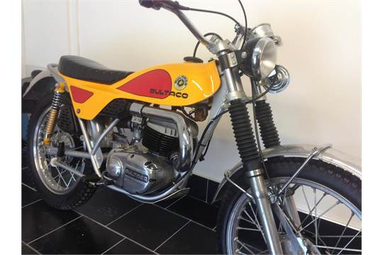 A 1974 Bultaco Lobito 175 Mk 7, unregistered, frame number TB