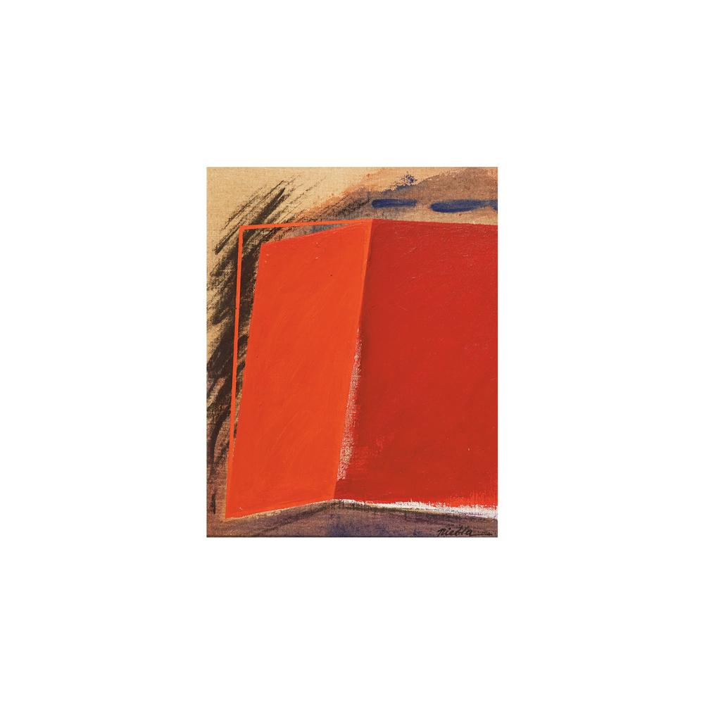 Niebla. José Álvarez Niebla. Composición. Óleo sobre tela.