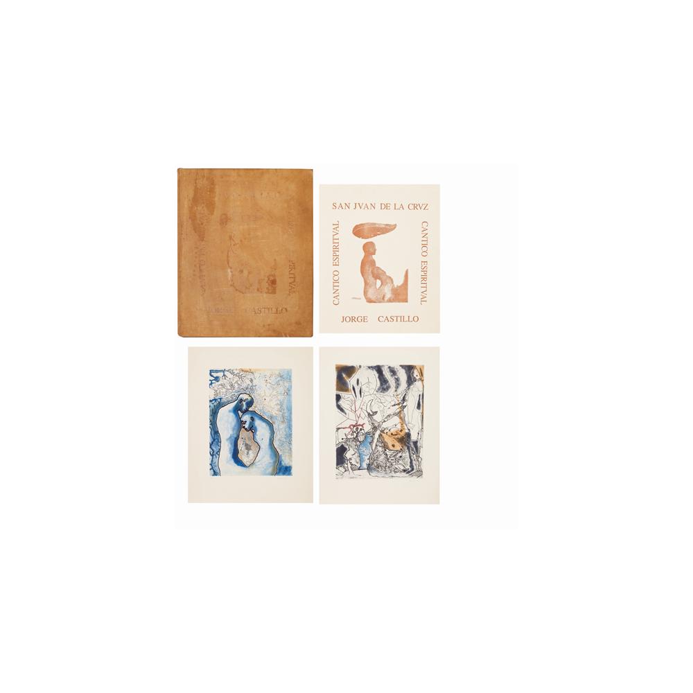 Jorge Castillo. Cántico espiritual de San Juan de la Cruz. Obra de 16 litografías.