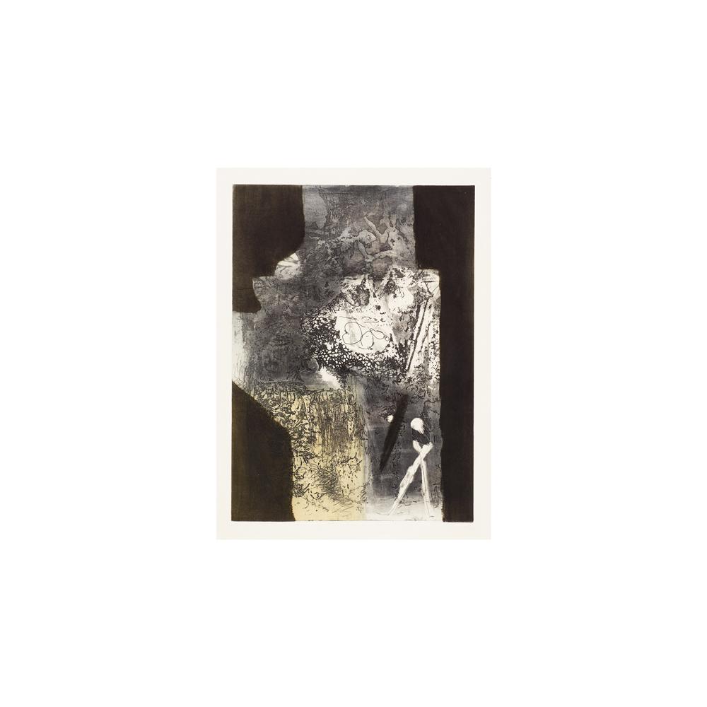 Antoni Clavé. Composición. Grabado.