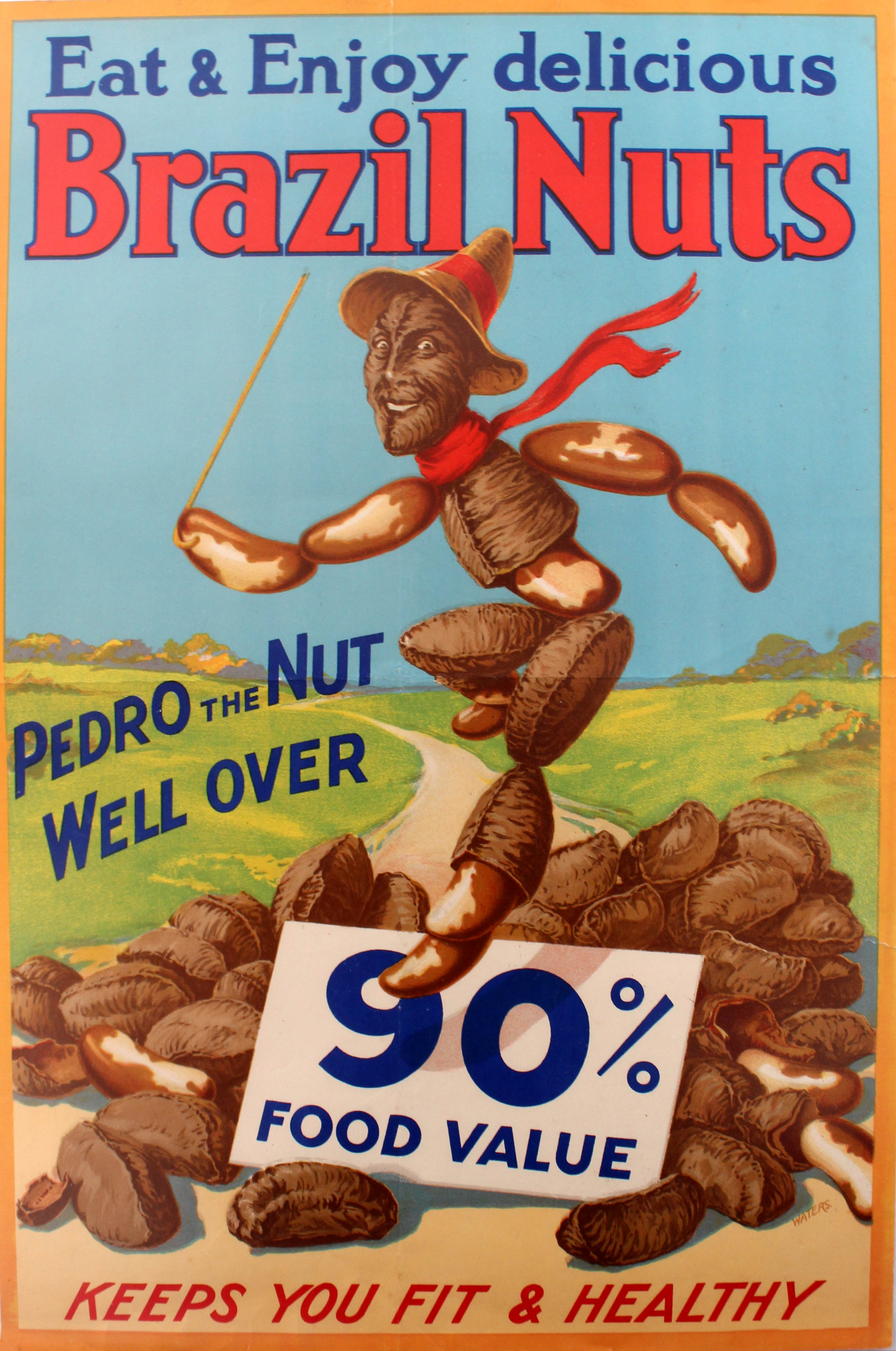 Lot 1303 - Advertising Posters Brazil Nuts