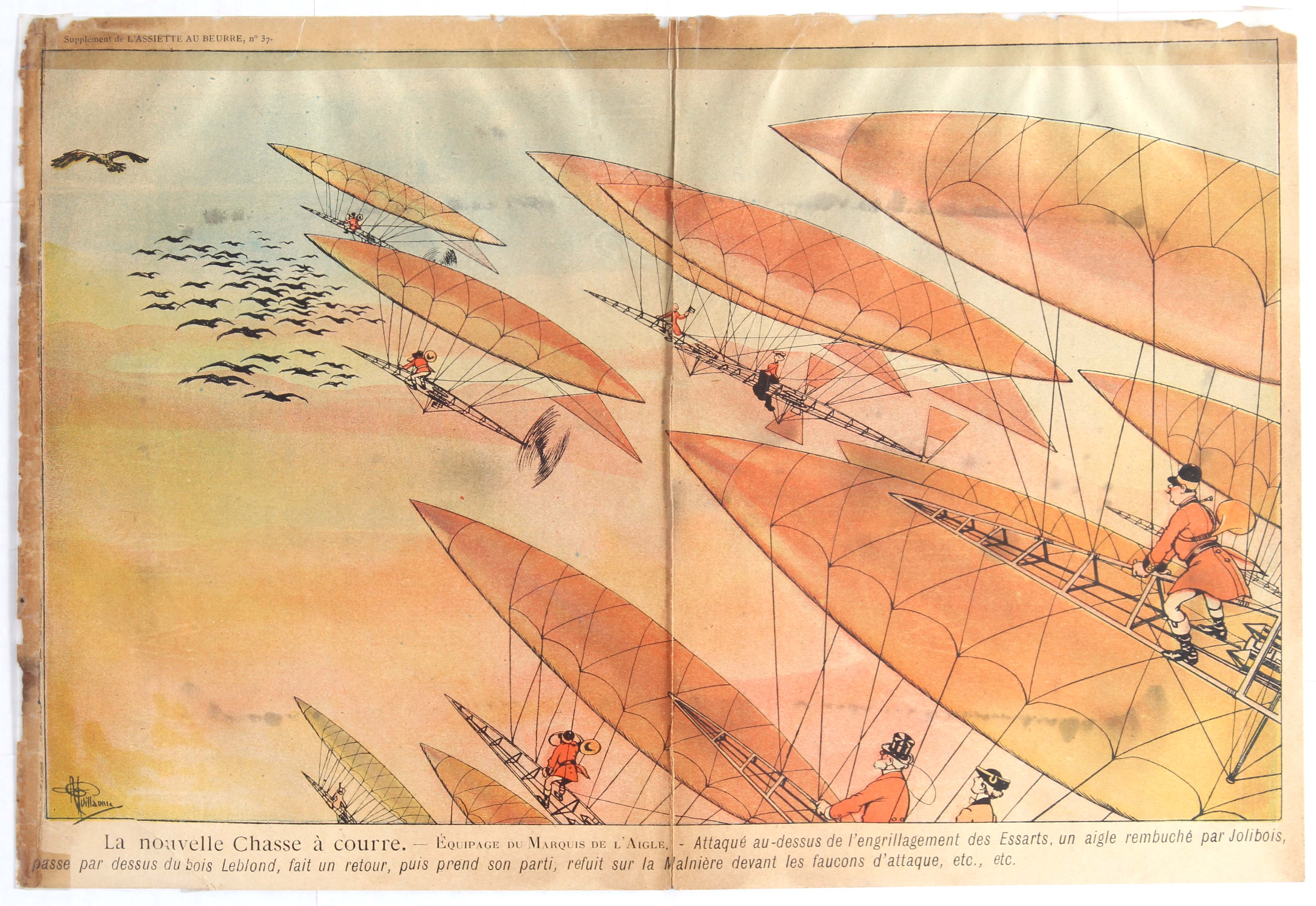 Lot 1001 - Advertising Poster Zeppelin Early Aviation