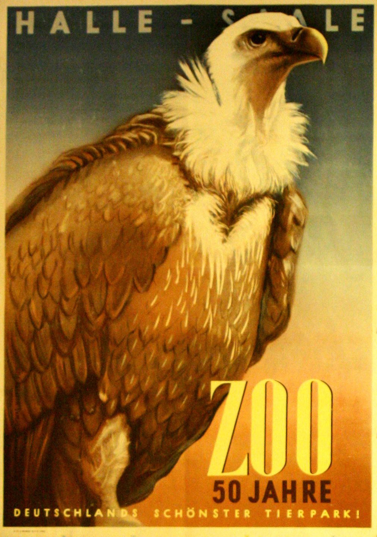 Advertising Posters Halle-Saale Zoo