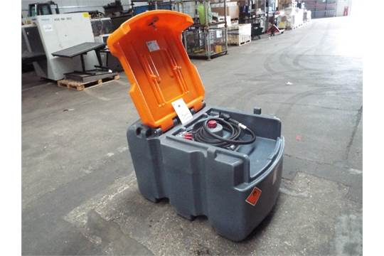You Are Bidding On A Jfc Tt 425 425l Mobile Diesel Tank Cw 12v Fuel