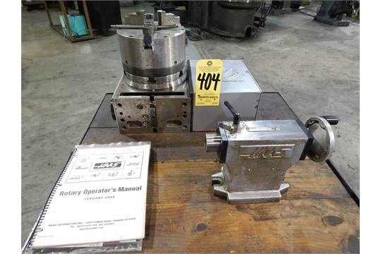 Haas Model HRT 210 4th Axis Indexer With 8 Inch 3 Jaw Chuck