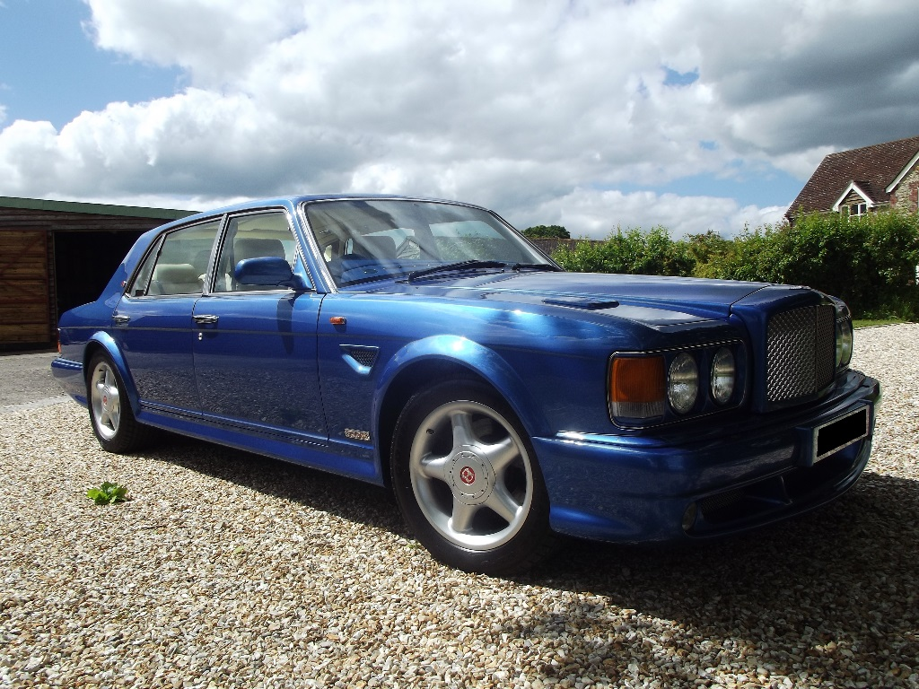 A 1998 Bentley Turbo RT Mulliner No 28, registration number TBA, chassis number SCBZP26C4WCH66746,