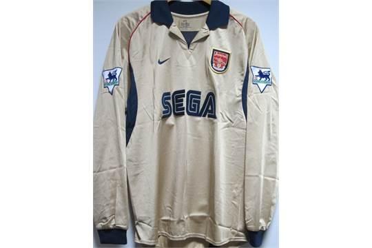 lowest price cc772 90f82 arsenal gold shirt
