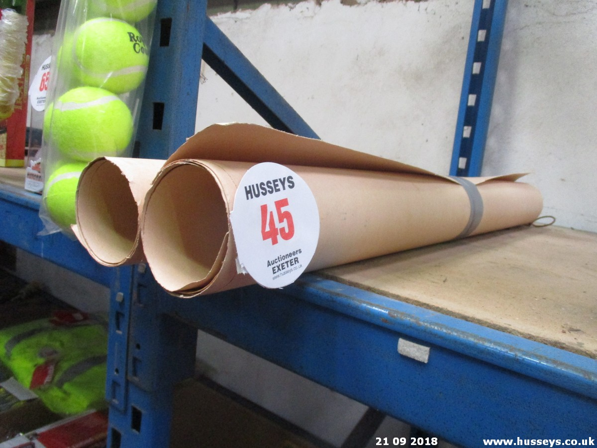 Lot 45 - GASKER PAPER